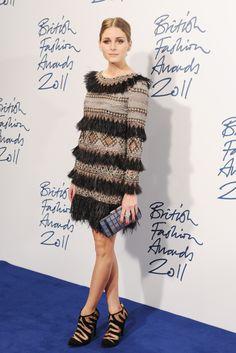 Olivia Palermo... Brit Fashion Awards