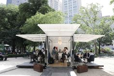 L.L. Bean promotes office spaces for working outdoors