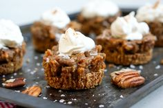 Salted Caramel Pecan Pie Tarts  #SproutedRoutes