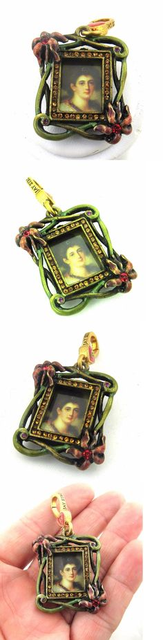 Bracelets 165040: New Without Box Jay Strongwater Crystal Enamel Picture Frame Charm -> BUY IT NOW ONLY: $40 on eBay!