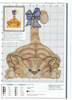 Cross Stitch Chart - Cat