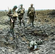 Hell on Earth: The never before seen colour photographs of the bloody battle of Passchendaele Nagasaki, Hiroshima, Triple Entente, Fukushima, World War One, First World, Battle Of Passchendaele, Battle Of Ypres, Canadian Soldiers