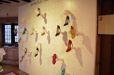 """MANOLO BLAHNIK, high-end footwear,""""A Pair & A Spare"""", pinned by Ton van der Veer"""