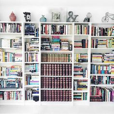 Instagram perpetualpages - Hey guys! So Megan (@booksandpolkadots) and I both agree that one of our favorite things about bookstagram is seeing everyone's beautiful bookshelves! I always get so happy when I'm scrolling through everyone's pictures and come across a shelfie! The bookshelves pictured here are Megan's and I can't stop staring at them because they're so gorgeous!