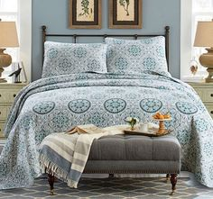 Umina Queen to King Bed Coverlet Set - Shop