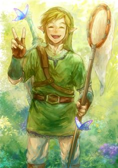 Stupidly pretty fantastically epic yep just a day in the life of Link