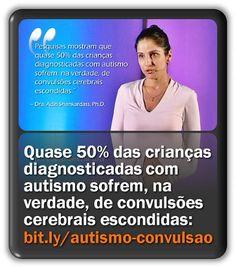 Quase 50% das crianças diagnosticadas com transtornos do espectro autista sofrem, na verdade, de convulsões cerebrais escondidas.