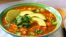 Chicken Tortilla Soup Recipe : Danny Boome : Food Network