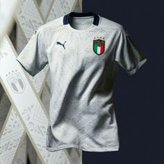 2020 Euro Italy Away White Soccer Jersey Shirt Soccer Kits, Football Kits, Football Jerseys, Italy National Football Team, Italy Soccer, Messi Gif, World Soccer Shop, Dfb Team, Football Mexicano