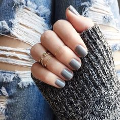 Fresh grey gels  color name on Snapchat  thriftsandthreads