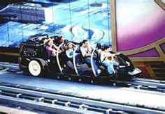 Disneyland's Rocket Rods - a great ride when it was working