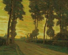 Flemish Highway - Charles Warren Eaton - The Athenaeum