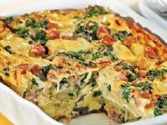 Omelete de Forno Keto Recipes, Vegetarian Recipes, Healthy Recipes, Cooking Tips, Cooking Recipes, Confort Food, Food Spot, Portuguese Recipes, Make Ahead Meals