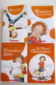 The Clementine books by Sara Pennypacker, pictures by Marla Frazee.  (And because Clementine is one of my favorite names in the whole wide world!) ;o)