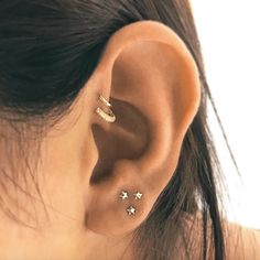 Maria Tash predicts people will continue to find creative ways to pack even more hoops and studs into their ears in 2018.