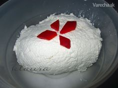 Domáca výroba syra Ricotta (fotorecept) Homemade Cheese, Russian Recipes, How To Make Cheese, Ricotta, Cooking Recipes, Cake, Creative, Desserts, Food