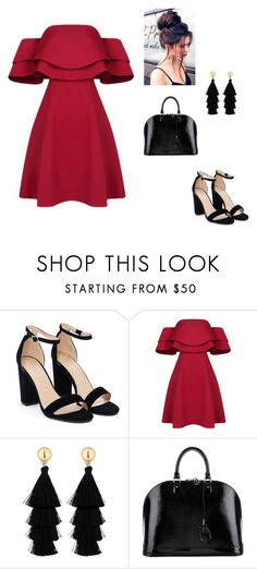 """""""Untitled #36"""" by slydrgn35 on Polyvore featuring Nasty Gal, Red Herring and Louis Vuitton"""