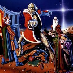 Merry Christmas! Conheça todos os cartões de natal do Iron Maiden ~ IRON MAIDEN 666 - BRASIL