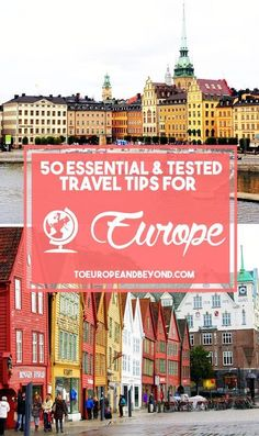 50 Random But Essential Europe Travel Tips