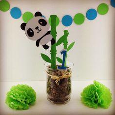 Panda birthday 1st Birthday Themes, Birthday Party Decorations, Boy Baby Shower Themes, Baby Boy Shower, Panda Birthday Cake, Panda Decorations, Panda Baby Showers, Panda Party, Birthday Scrapbook