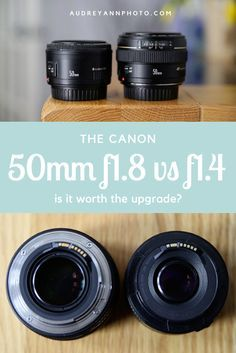 Many people will have the Canon and wondered whether it was worth the upgrade to the more expensive version? Here's my side by side comparison of both lenses. Dslr Photography Tips, Photography Lessons, Digital Photography, Photography Equipment, Photography Composition, Learn Photography, Wedding Photography, Photography Tutorials, White Photography