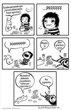 ideas funny comics hilarious sarah anderson for 2019 Sarah See Andersen, Sarah Anderson Comics, Sara Anderson, Funny Cute, The Funny, Hilarious, Cute Comics, Funny Comics, Girls Problems