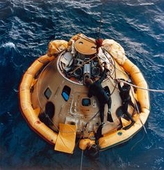 Apollo 6 Recovery Apr 4, 1968 4:58 pm The USS Okinawa was the prime recovery ship for the Apollo 6 (Spacecraft 020/Saturn 502) unmanned space mission. Splashdown occurred at 4:58:45 p.m. (EST), April 4, 1968, at 375 nautical miles north of Honolulu, Hawaii.