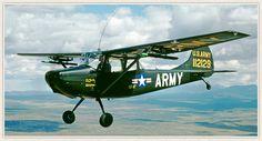 Cessna 0-1 Birddog L-19 Reconnaissance Airplane