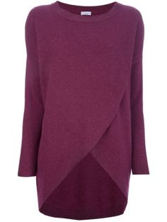 BRUNELLO CUCINELLI - wrap effect sweater