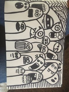 Doodle monsters made by me