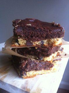 Chocolate Chip Cookie Brownies from @AncestralNut #paleo #grainfree #dairyfree