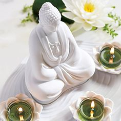 Teelichthalter Zen