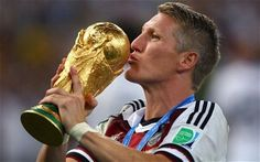 World Cup winner Schweinsteiger calls time on career spent with Bayern Munich Man Utd & Chicago Fire World Cup Winners, World Cup 2014, Fifa World Cup, Manchester United, Ana Ivanovic, Europa League, Chicago Fire, The Magicians, Bastian Schweinsteiger