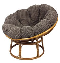 Papasan Chair finished in a super soft jumbo cord, coffee coloured papasan cushion. Papasan Cushion, Papasan Chair, Free Fabric Samples, Coffee Colour, Light Oak, Scatter Cushions, Foot Rest, Soft Furnishings, Home Textile