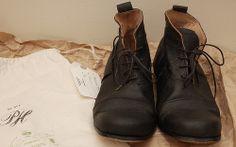 FS: Junya x Gloverall plaid duffle cost   Paul Harnden Balmoral Boots - StyleZeitgeist