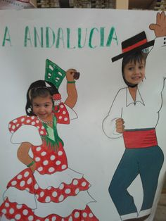 NUBEKIDS: DÍA  DE  ANDALUCÍA Summer Camp Activities, Activities For Kids, Flamenco Party, Spanish Party, Spanish Heritage, Spain Culture, Hispanic Heritage Month, Classroom Themes, Girl Scouts
