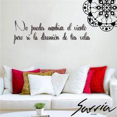 Decora tu hogar con frases que inspiren todos los días de tu vida. #Inspiration #Design #lifestyle #Sarriahome #bogotá