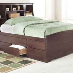 ''Sonoma'' Platform Bed with Storage, Tall Height - Sears | Sears Canada