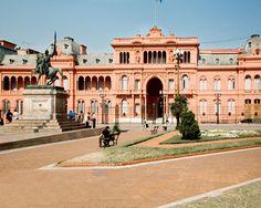 Casa-Rosada.Buenos Aires Presidental Palace