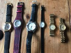 Variety to choose from - vintage watches- All working- Fossil, Timex, citizens and more- priced per watch or an option to buy all by BBinVintage on Etsy