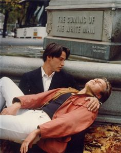 Keenu Reeves and River Phoenix in My Own Private Idaho