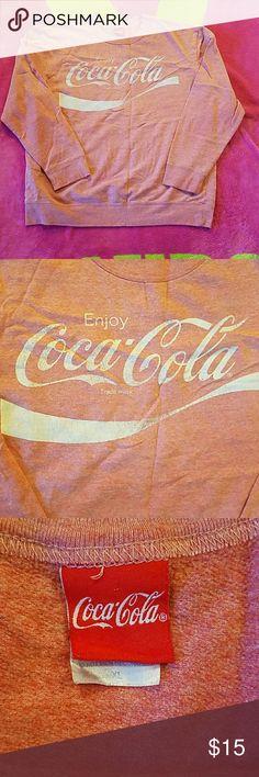 Coca Cola Sweatshirt No damage rips tears or stains Coca Cola Shirts Sweatshirts & Hoodies
