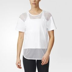 Essentials Mesh T-Shirt - weiß