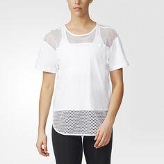 Essentials Mesh T-Shirt - weiß