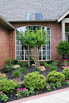 Landscape design is easy when you break it down into individual ideas. Check out some of favorite landscape ideas and strategies for making a beautiful yard. #landscaping #backyard #frontyard