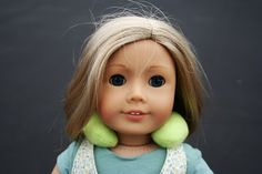Arts and Crafts for your American Girl Doll: Neck pillow for American Girl Doll