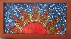 mosaic design by sabejarano Stained Glass Birds, Stained Glass Designs, Stained Glass Panels, Mosaic Designs, Mosaic Patterns, Mosaic Garden Art, Mosaic Diy, Mosaic Crafts, Mosaic Tiles