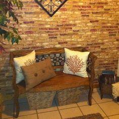 B Amp Q Brick Wallpaper Bathroom Ideas Pinterest Master