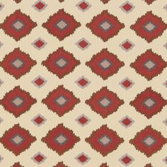 Sikar Embroidery | 65783 in Pomegranate | Schumacher Fabrics by Martyn Lawrence Bullard