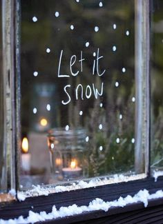 Let it snow, let it snow!